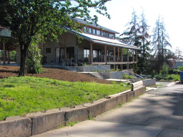 grange exterior (architectural angle)